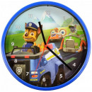 wholesale Licensed Products: Paw Patrol Wall clock 22,5cm blue
