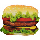 wholesale Food & Beverage: Pillow hamburger polyester colorful 37x