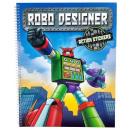 grossiste Experimentation et recherche: livre Robo Designer avec des autocollants promo