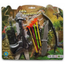 wholesale Other: Crossbow set 8 pcs on card 19cm