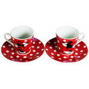 wholesale Houshold & Kitchen: Minnie Mouse Serviesset (2 cups with saucer)