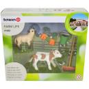 Schleich Farm Life Reinigung mit Kalb und Schaf-Se