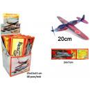 grossiste Autre: Jetez Planes dans Display 12 EVA assorties