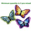 mayorista Cojines y mantas: Cojín Butterfly 3 surtidos 30cm