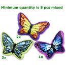 grossiste Coussins & Couvertures: coussin Papillon 3 assortis 50cm