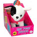 Plush Dog Bisou with sound 23cm