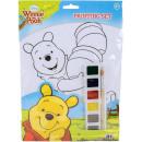 Großhandel Sonstige: Set von Farben A4 12 PC Winnie the Pooh