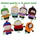 hurtownia Produkty licencyjne: South Park Plush 7 Assorted Miękkie Bagclip 12cm