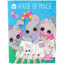 nagyker Ajándékok és papíráruk: House of Eyes színező könyv 12 darab a Display