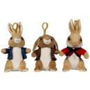 Peter Rabbit Bagclip 3 assorted (P3-B2-F1)