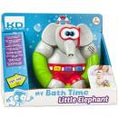 Elefante giocattolo da bagno con suono