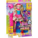 ingrosso Giocattoli: Barbie Video Game Hero Doll con pattini illuminati