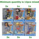 grossiste Jouets: DC Super-héros Fille Minifigures 7,5x9cm assortime