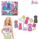 Barbie Fashion Design Plates 2 assorted