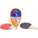 groothandel Sport & Vrije Tijd: Sportline tafeltennisset met 2 ballen in draagtas