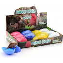 wholesale Other: Dinosaur slime egg in Display , 4 assorted