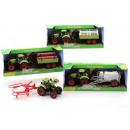 wholesale Other: Junior Farming tractor playset medium 4 assorted