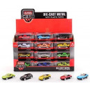 Super Cars Die Cast Car 2,6inch 12 assortiment de
