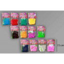 Squeezy ball Glitter white 4 assorted 100 g