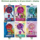 Großhandel Outdoor-Spielzeug: Bubbles Magic Wand Set 6 sortiert im Display 16x