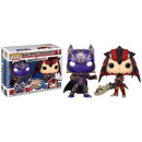 POP! Jeux Marvel Capcom 2-Pack Black Panther / Mon