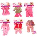 Die Kleidung für Babypuppen 20-30cm nette Baby-6-f