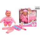 wholesale Toys: Baby doll gift box set Cute Baby 2 assorted 40cm