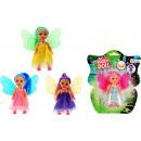 Little Fairy doll on card 4 assorted