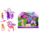 Pop Kailey and Horse with Wings 3 assorted glitter