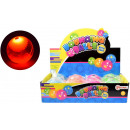 Flashing bouncing ball 65mm eye puffer water 4asso