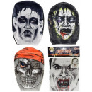 Großhandel Scherzartikel: Gruselige Maske 4 sortiert