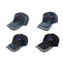 wholesale Jeanswear:Jeans cap with glitter