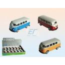 Großhandel Spielwaren: Volkswagen T1 Bus 1963 Modellauto Metall 1:60 VW