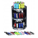 Großhandel Taschenlampen: Torch Taschenlampe 9-LED mit Batterien im 3-stöck