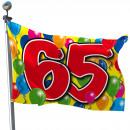 mayorista Gadgets y recuerdos:Bandera 65 Año - 60x90cm