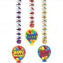 Großhandel Dekoration: Hängende Dekoration Happy Birthday zum Happy ...