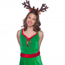 wholesale Illuminants: Tiara Reindeer Ears with LED