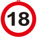 Großhandel Sonstige: Türschild 18 Verkehrsschild 47 cm