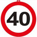 Großhandel Sonstige: Türschild 40 Verkehrsschild 47 cm