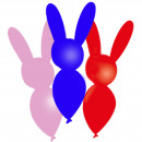 wholesale Gifts & Stationery: Animal figure balloons - 8 pieces