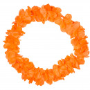 Hawaii krans neon orange 9,5 cm