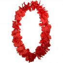 grossiste Chaines: Hawai Collier avec des fleurs rouges