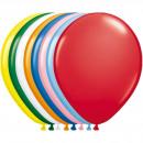 Großhandel Geschenkartikel & Papeterie: Multicolor Ballons Set - 23cm - 50 Stück