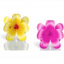 Großhandel Dekoration: Tischdekoration tropische Blumen - 4 Stück