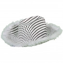 wholesale Headgear: Cowboy hat deluxe psychedelic white