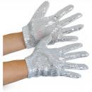 wholesale Gloves: Michael Jackson Glitter gloves - children's si