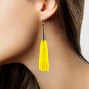 wholesale Jewelry & Watches: Earrings fringe neon yellow