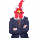 Rooster Mask with Moving Mouth