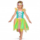 wholesale Toys: Spring Fairy Dress with Flower Crown Girls - Size