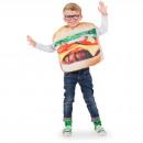 Großhandel Lebensmittel: Hamburger Kostüm Kind Größe STD